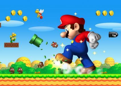 Mario drift cu masina